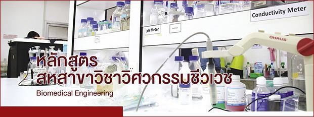 หลักสูตรสหสาขาวิชาวิศวกรรมชีวเวช (Biomedical Engineering)